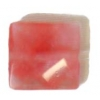 Facet Square Reconstructed B-grade 16in 10mm Cherry Quartz